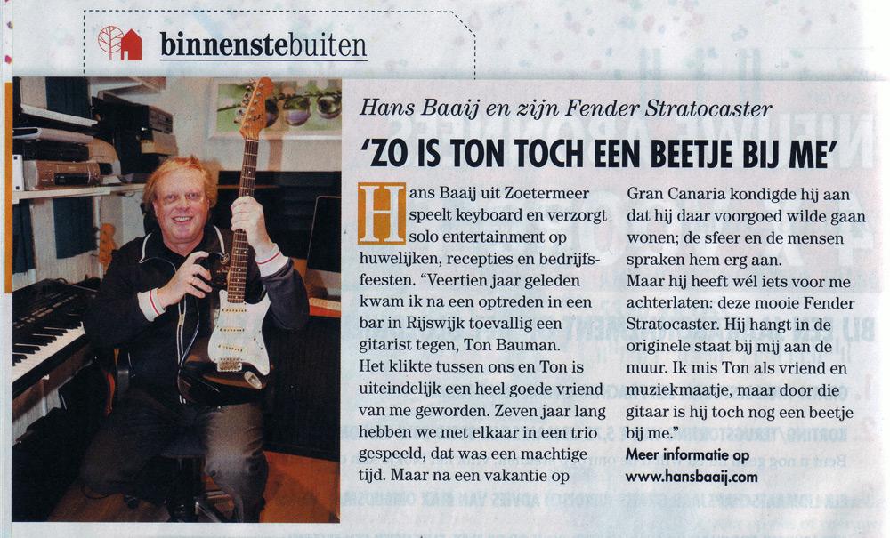 Een leuk stukje uit de MAX magazine 25 Maart 2013