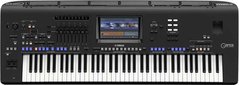 Hans Baaij Keyboardspler zanger Yamaha Genos