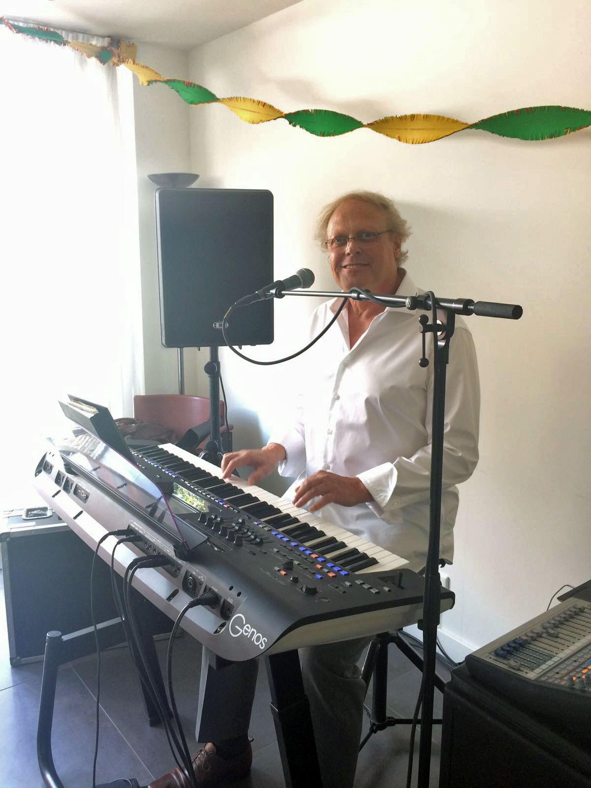 Zanger toetsenist Hans Baaij